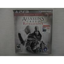 Assassins Creed Revelations Ps3 Jogo Em Midia Fisica