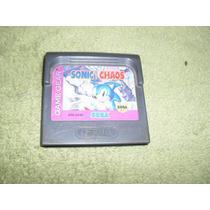 Sonic Chaos Para O Game Gear... Funcionando 100%