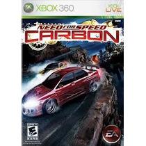 Jogo Lacrato Ntcs Need For Speed Carbon Para Xbox 360