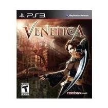 Jogo Lançamento Venetica Para Ps3 Playstation 3