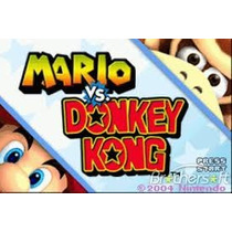 Mario Vs Donkey Kong Para Gba E Nintendo Ds