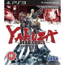 Yakuza Dead Souls - Ps3 - Jogo De Ação E Zumbis Midia Fisica