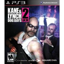 Jogo Kane & Lynch 2 Dog Days Para Ps3 , Americano Lançamento