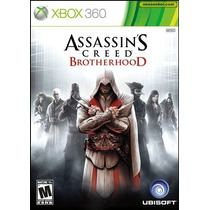 Assassins Creed Brotherhood Legenda Br - Original Impecável