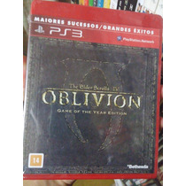 The Elder Scrols Iv Oblivion Game Of The Year Edition Ps3