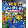 Sonic E Sega All-stars Racing Ps3 - Lacrado Pronta Entrega