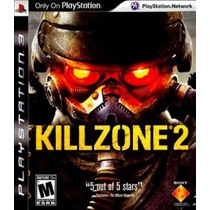 Jogo Ps3 Killzone 2 Playstation 3 Lacrado Americano