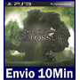 Shadow Of The Colossus Ps3 Código Psn