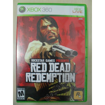 Red Dead Redemption Completo - Original Xbox 360 Ntsc