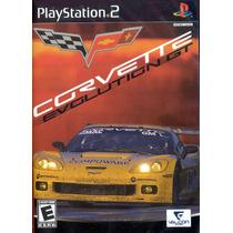 Jogo Original E Lacrado Corvette Evolution Gt Para Ps2 Ntsc