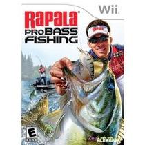 Jogo Novo De Pesca Rapala Pro Bass Fishing Para Nintendo Wii