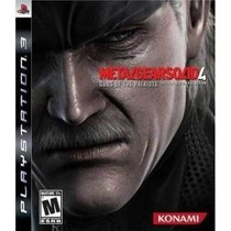 Jogo Semi Novo Metal Gear Solid 4 Impecavel Playstation 3
