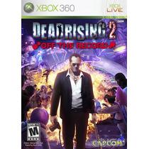 Game Dead Rising 2: Off The Record - Xbox360 (novo Lacrado)