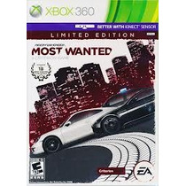 Jogo Ntsc Need For Speed Most Wanted Lacrado Para Xbox 360