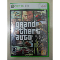 Grand Theft Auto Iv Gta 4 Completo - Original Xbox 360 Ntsc