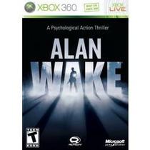 Jogo Alan Wake Exclusivo Microsoft Para Xbox 360 , Americano
