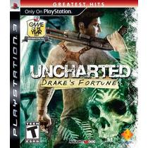 Uncharted: Drakes Fortune Em Português- Jogos Playstation 3