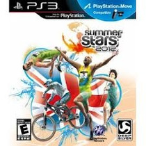 Jogo Summer Stars 2012 Original Lacrado Ps3 Compativel Move