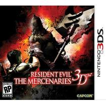 3ds Resident Evil The Mercenaries 3d- Novo- Original- Lacrad