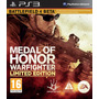 Medal Of Honor War Limited Edit Pronta Entrega Retire Em Mao