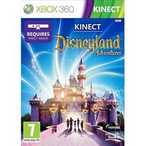 Jogo Xbox 360 - Game Original - Kinect Disneyland Adventure