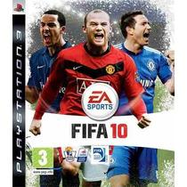 Jogos Fifa 2010, Pes 2010 E Wet Oficiais,e Lacrados Ps3
