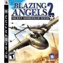 Jogo Semi Novo Blazing Angels 2 Secret Missions Of Wwii Ps3