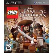 Jogo Lacrado Lego Disney Pirates Of The Caribbean Para Ps3