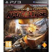 Jogo Lacrado Exclusivo Sony Motorstorm Apocalypse 3d Pra Ps3