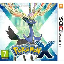 Pokemon X Nintendo 3ds / Xl Lacrado Pronta Entrega