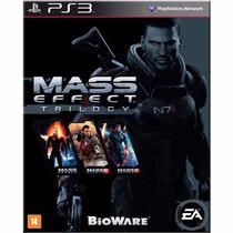 Jogo Para Ps3 Mass Effect Trilogy Original Lacrado
