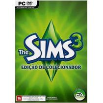 Game Pc Mac The Sims 3 Edição De Colecionador Original Lacrd