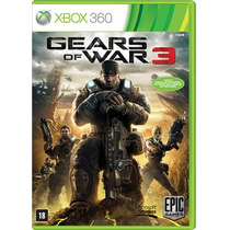 Xbox 360 Gears Of War 3 - Novo - Original - Lacrado
