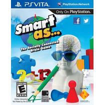 Jogo Novo Lacrado Smart As Para Playstation Vita ,ps Vita