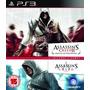 Jogos Assassins Creed 1 E 2 Double Pack Ps3 Frete Grátis