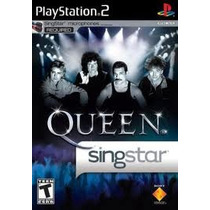 Jogo Singstar Queen Original E Lacrado Pra Playstation 2 Ps2