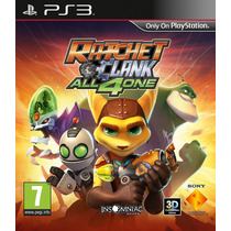 Game Ratchet & Clank: All 4 One Ps3 (r1 Lacrado)