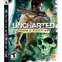 Uncharted 1 Drakes Fortune - Ps3 - Português - Original