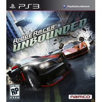 Game Ps3 Ridge Racer Unbounded