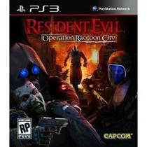 Jogo Lacrado Resident Evil Operation Raccoon City Para Ps3
