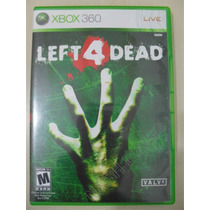 Left 4 Dead Sem Manual - Original Xbox 360 Ntsc