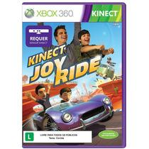Kinect Joy Ride Corrida Xbox 360 Jogo Novo Original Lacrado
