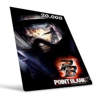Point Blank - Cartão De 20.000 Cash - Preço Imbátivel !