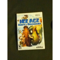 Jogo Ice Age Dawn Of The Dinosaurs Original Nintendo Wii