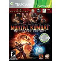 Mortal Kombat 9 Komplete Edition - Xbox 360 Lacrado