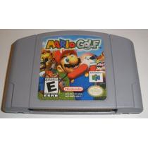 N-64: Mario Golf Original Americano!! Cartucho Novinho!!