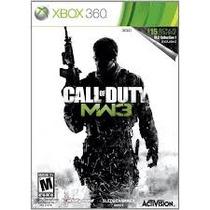 Jogo Ntsc Call Of Duty Modern Warfare 3 Com Bonus Xbox 360
