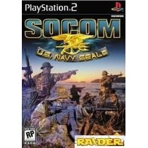Socom Us Navy Seals Ps2 Capa 100% Original + Jogo