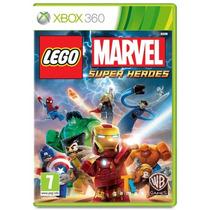 Lego Marvel Super Heroes Xbox 360 Lacrado Português Original