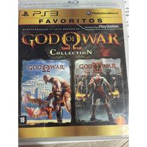 Game Ps3 - God Of War I E Ii. Edição Remasterizada.
